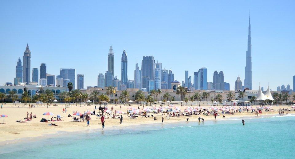 Dubai all'aria aperta
