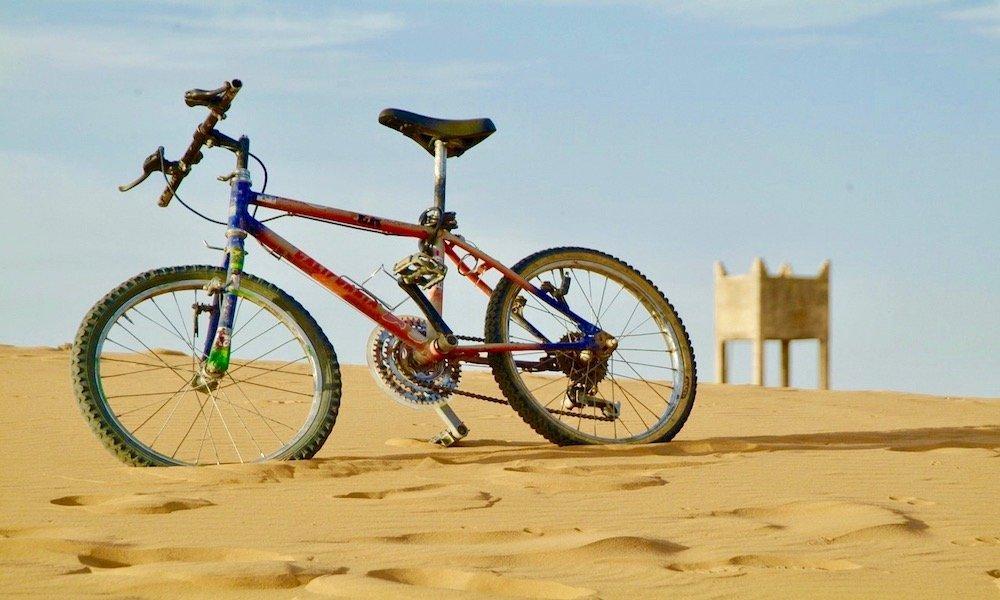 In bici a Dubai