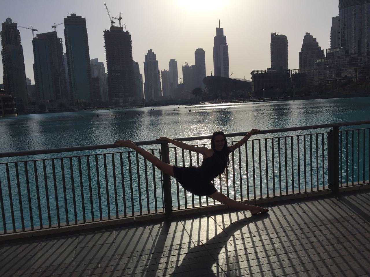 """La ballerina Roberta Di Laura: """"a Dubai scuole di qualità e opportunità di lavoro"""""""