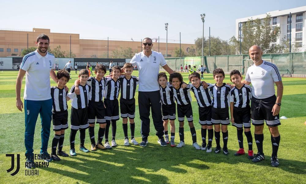 Juventus Academy lancia nuove location negli Emirati