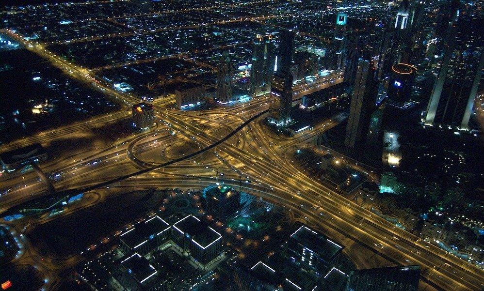 Le strade di Dubai