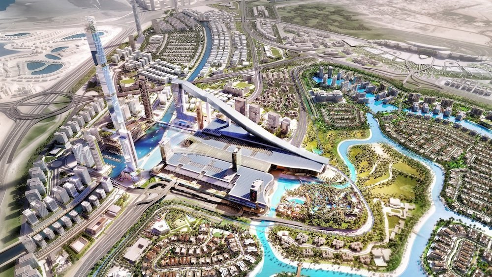 Il Meydan One prende forma