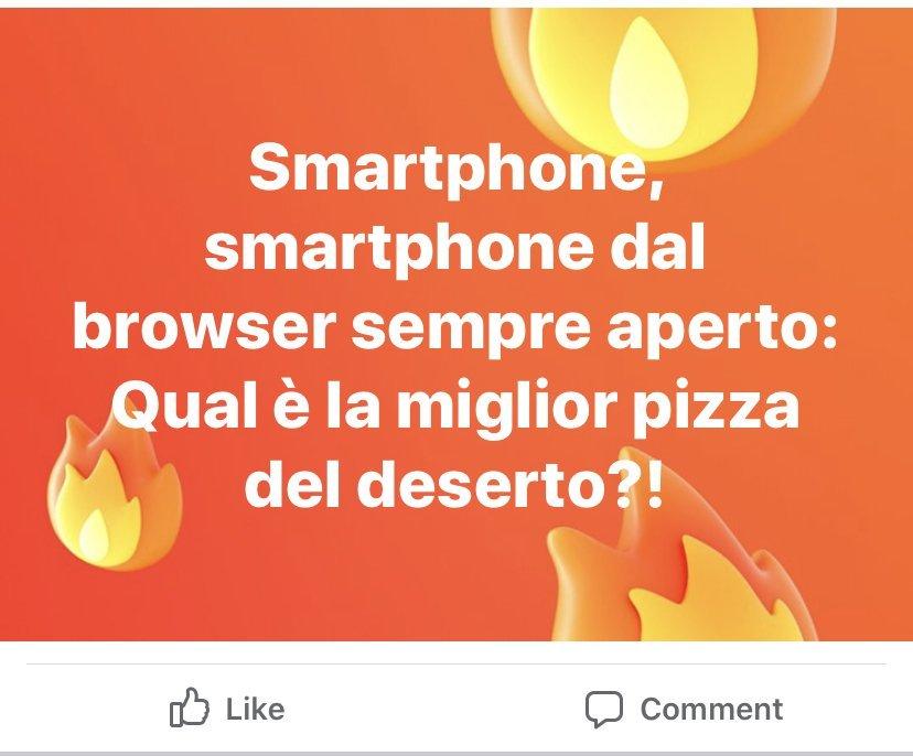 Gli Italiani e il problema pizza
