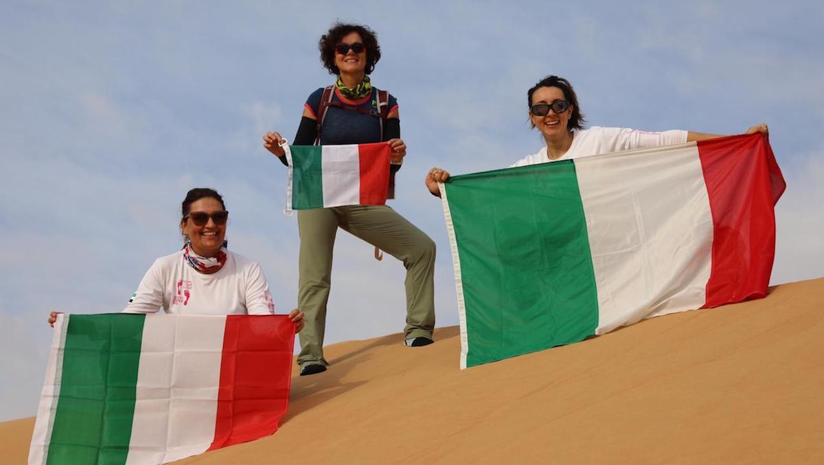 Women Heritage Walk 2020: cinque donne italiane nel deserto