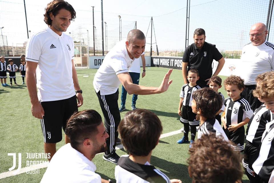 Trezeguet Juventus Academy Dubaitaly 2020