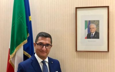 Il nuovo Console Generale di Dubai, Giuseppe Finocchiaro, si presenta alla comunità italiana