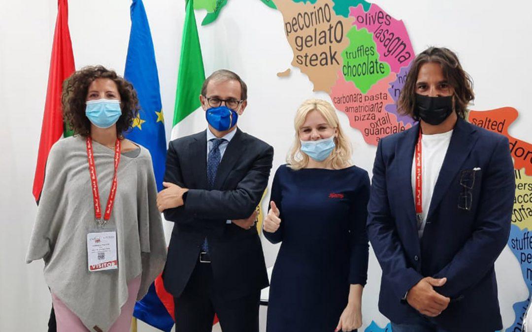 Le eccellenze del Made in Italy al Gulfood 2021