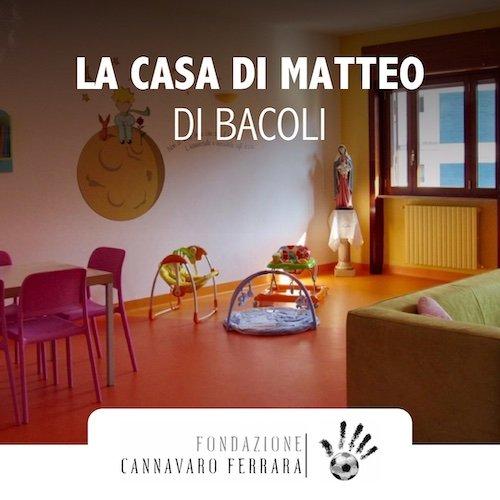 Fondazione Cannavaro Ferrara Casa di matteo