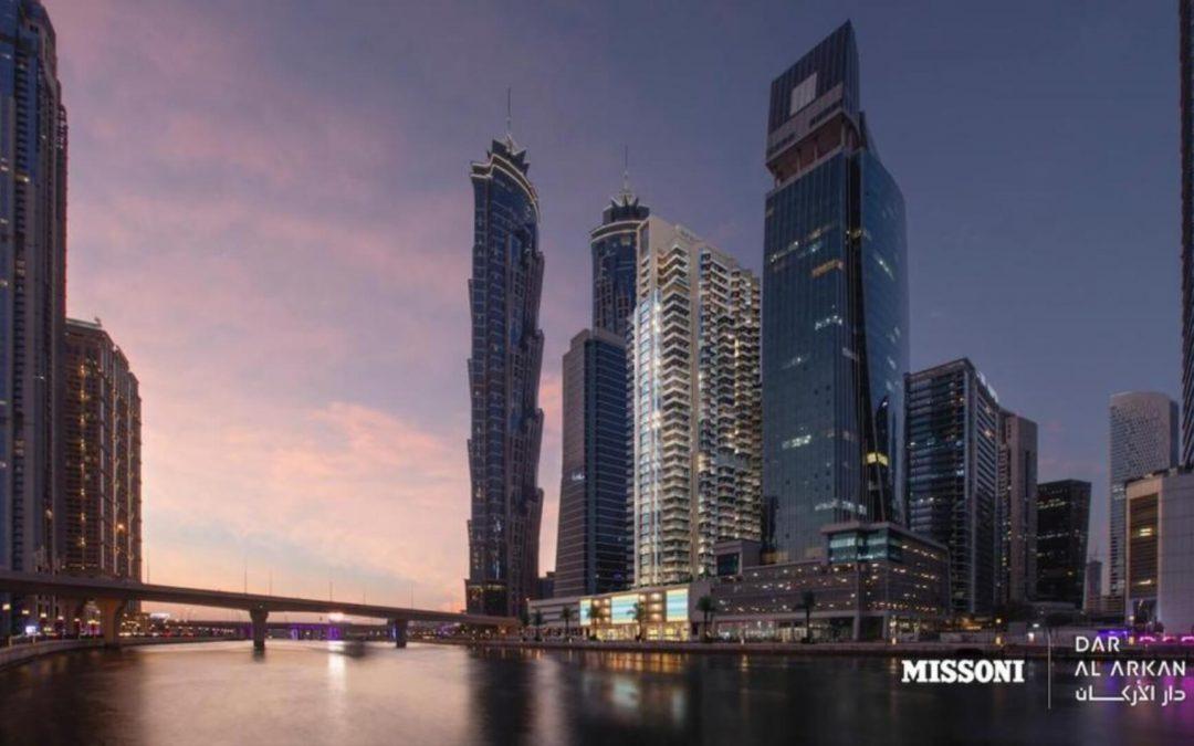 Investimenti immobiliari a Dubai:  Missoni  firma un nuovo grattacielo a Business Bay
